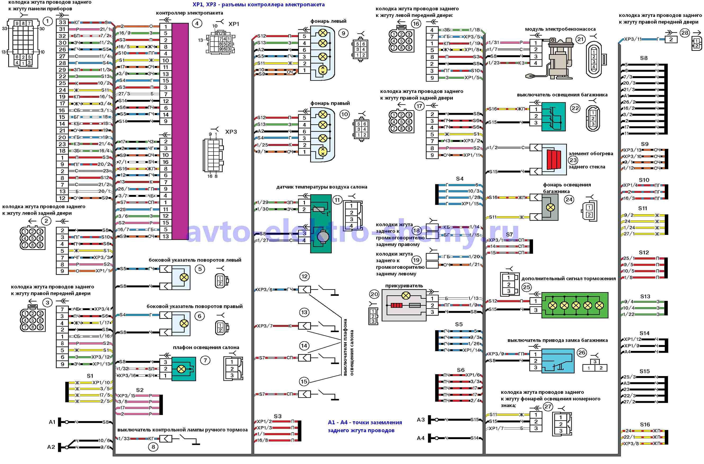 схема проводов в панельных домах