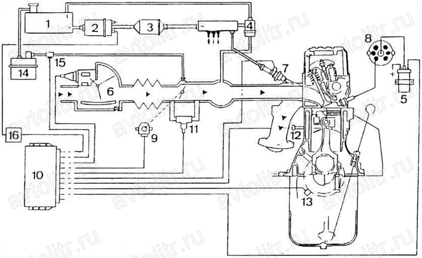 схема 2 периодного зарядного устройства